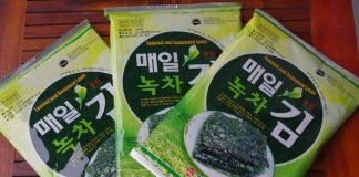 Rong biển khô Hàn Quốc - Du lịch Hàn Quốc